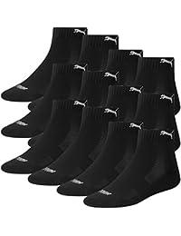 PUMA Unisex Match Quarters Socken Sportsocken MIT FROTTEESOHLE 12er Pack