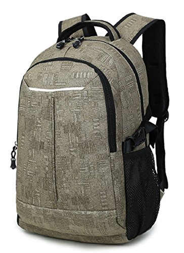 Longzibog Dual verstellbare Schultergurte und Hängeschlaufenband Mode Damen accessories hohe Qualität Einfache Tasche Schultertasche Freizeitrucksack Tasche Rucksäcke Grau