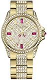 Juicy Couture Damen-Armbanduhr Stella Analog Quarz Rotgold 1901084