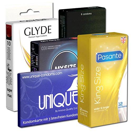 Kondomotheke® B5 XXL B - 5x condones grandes