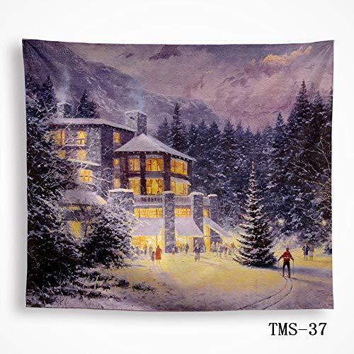mmzki Tapisserie Tapisserie Tischdecke Wandbehang Wanddekoration Landschaftsbilder 37 200x150