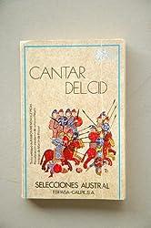Cantar Del Cid (Selecciones austral ; 12 : Clasicos) by Ramon Menendez Pidal (1984-06-03)