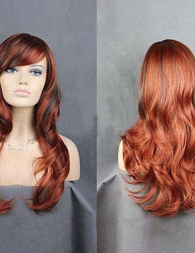 Fashion wigstyle europäischen und amerikanischen Hochwertige Hochtemperatur Draht Länge lockiges Haar Perücke Fashion Girl notwendig auf Verkauf ()