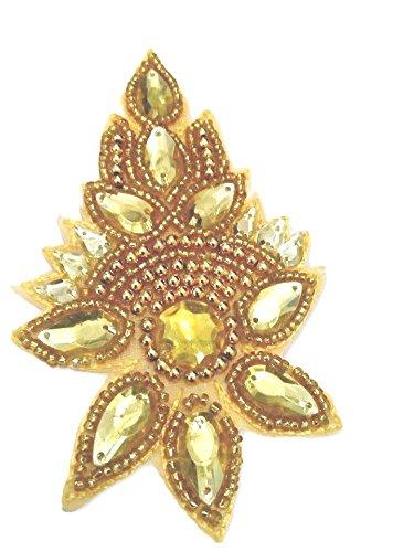 Golden Motif / Buttis / Saree Patches for DIY Sarees, Dupattas, Dresses,...