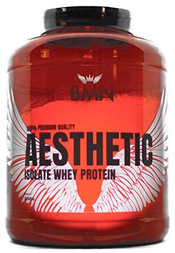 BMN I AESTHETIC ISO WHEY 100% Premium Isolat Protein Feel Aesthetics I Extra Supplementierung für dein Muskelaufbautraining mit +ZINK I +EISEN I +L GLUTAMIN I +BCAAs I Cookies & Cream, 1kg