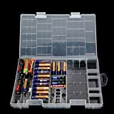 Automotive Battery Best Deals - AAA AA CD 9V Battery Holder dur rack Boîte en plastique transparent étui de rangement