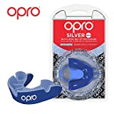 Opro Silver Level Mouthguard, Kids, Blue/Light Blue
