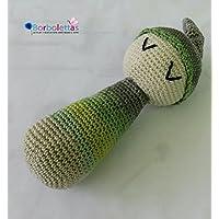 Sonajero Verdi. Hecho a Mano. Crochet. España