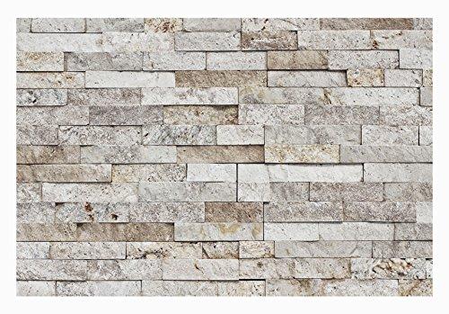 1 Muster W-013 Wanddesign Wandverblender Travertin Steinwand Wandverkleidung Naturstein Fliesen Lager Verkauf Stein-Mosaik Herne NRW