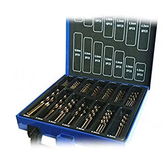 99pc Cobalt Drill Bit Set (HSS-Co / Inox ) HSS Metal - Designed for Stainless Steel