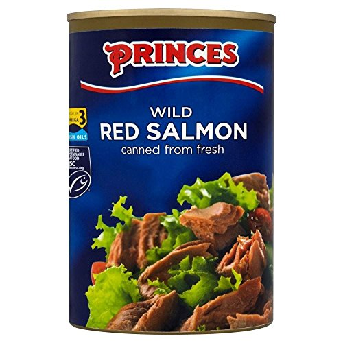 Princes sauvage Red Salmon (418g) - Paquet de 6