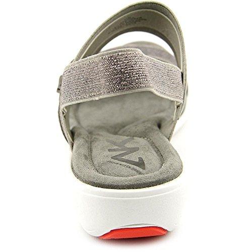 Anne Klein Sport Hida Damen Offener Spitze Textile Slingback Sandale Pew/Pew