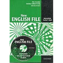 New English File : Intermediate Teacher's Book (1Cédérom)