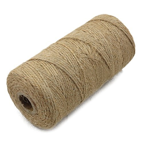 Natural Jute Twine 3 mm 4 Ply Jute Cord Durable