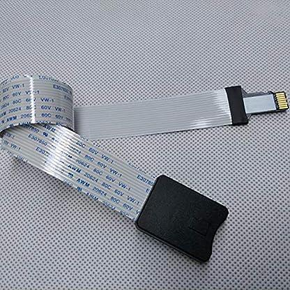Kentop-Micro-SD-auf-TF-Karten-Verlngerung-Kabel-Adapter-Flexible-Extender-fr-Auto-GPS