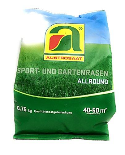0,75kg | Spiel- und Garten Rasensamen | für bis zu 50m2 Traumrasen | hochwertige Allround Mischung