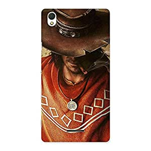 Special Cowboy Multicolor Back Case Cover for Sony Xperia T3