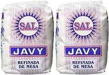 Javy - Sal rafinada de mesa - 1 kg - [Pack de 2]