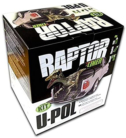 U-Pol Products 0821V RAPTOR Tintable Truck Bed Liner Voc kit - 4 Liter by U-Pol