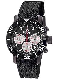 TW Steel Herren-Armbanduhr XL Diver Chronograph Quarz Kautschuk TW-704