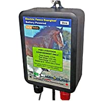 Electric Fence Energiser SHIRE 0.6Joules 12v Battery Water Proof 6 Mile of Fence