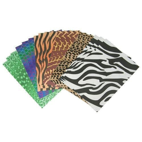 Animal Print Papers set of 15 A4 Sheets
