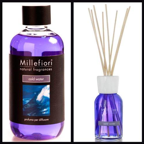 Millefiori Milano Sparset Ozean Cold Water (100ml Diffusor & 250ml Nachfüller)