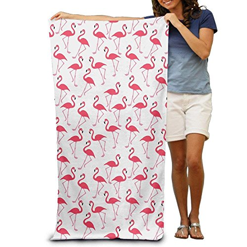 hat pillow Flamingo Wallpaper Super Soft Highly Absorbent Eco-Friendly Durable Beach Towels for Maximum Softness Easy Care-Home,spa Resort,Hotels Motels Gym Use 80X130cm -