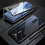 Wishcover Custodia Magnetico per Oppo Reno 10X Zoom,6.6' Cover 360 Gradi Full Body Trasparente Vetro...