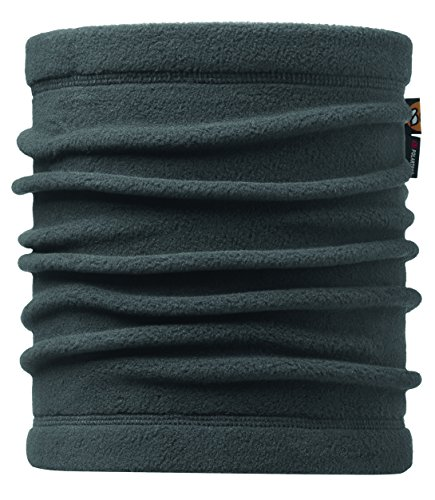 Buff Erwachsene Polar Neckwarmer Multifunktionstuch, Solid Grey, One size