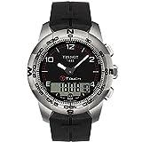Tissot T-Touch titanio Orologio da uomo in gomma T0474204705700 Orologio da polso (orologio)