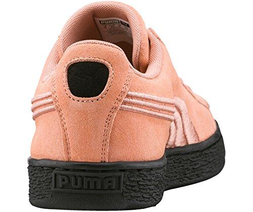 Puma Unisex-Erwachsene Suede Classic Badge Flip 'Em Sneaker altrosa / schwarz