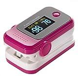 Finger Clip Typ Pulsoximeter Pulse Erkennung Herzfrequenz Meter Haushalt Medical Detektor? Das Produkt nicht enthalten Batterien?, rose