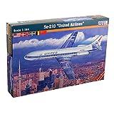 MisterCraft SE-210Caravelle United Airlines Kit de modèle en Plastique