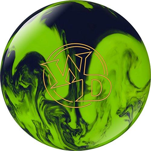 Bowlingball Columbia 300 White Dot Lime Slime Polyester (12 Pfund)