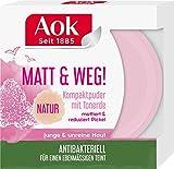 Aok Mattierendes Kompaktpuder mit Tonerde, 6er Pack (6 x 1 Stück)