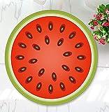 Tomatoa Home Frucht Zimmer Teppich Shaggy Soft Area Teppich Dekoration Schlafzimmer Rechteck BodenMatte Kinderteppich Kinderzimmer Dschungel (F)