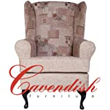 """Extra Wide (Seat Width 21"""") Orthopedic High Seat Chairs in 21"""" or 19"""" Seat Heights. Luxurious Chenille Fabric (21"""" Seat Height)"""