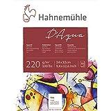Hahnemühle - D'aqua -Bloc papier pour peinture aquarelle - 24X32cm - 220 g/m²