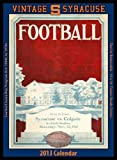 Syracuse Orange 2013 Vintage Football Calendar