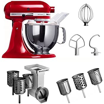 Amazon.De: Kitchenaid Ksm150Pseer + Mvsa + Emvsc Kitchenaid