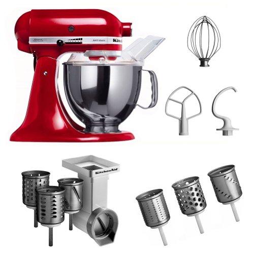 Kitchenaid 5KSM150PS EER MVSA EMVSC - Robot da cucina Artisan, con ciotola da 4,8 litri
