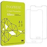 Panzerglas für Samsung Galaxy S5/S5 Neo, POOPHUNS 2Stück Schutzfolie für Samsung Galaxy S5/S5 Neo, 9H Härtegrad, 99% Transparenz Full HD, Einfaches Anbringen