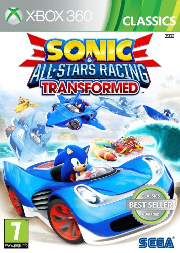 Sonic and All Stars Racing Transformed: Classics (Xbox 360) UK IMPORT (Für Racing 360 Xbox Spiele)