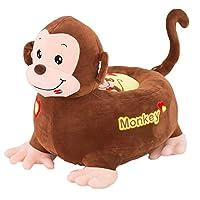 Albrose Children Pp Cotton Plush Cartoon Toys Sofa animal Chairs for Kids Gift