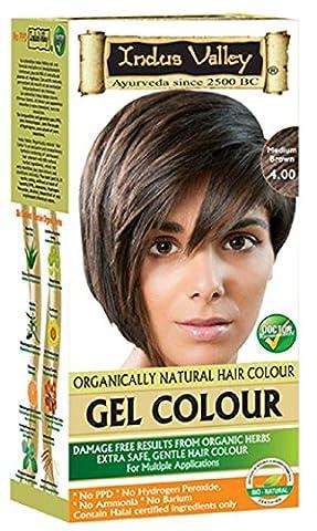 Indus Valley Gel Herbal Based Hair Dye Colour Kit is