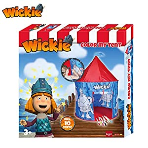 Knorrtoys 83558 - Wickie Anmalzelt, Colorido