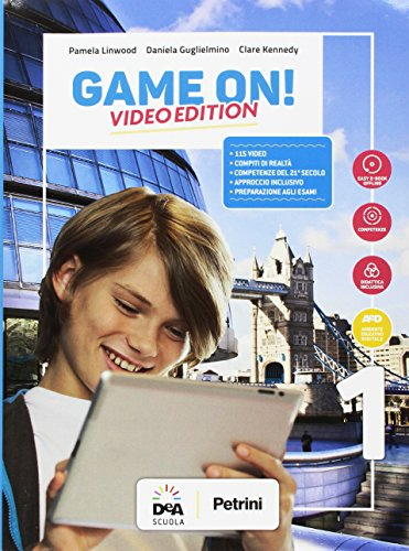 Game on! Student's book-Workbook. Ediz. video. Per la Scuola media. Con e-book. Con espansione online. Con Audio. Con DVD-ROM. Con Libro: Grammar-Maps: 1