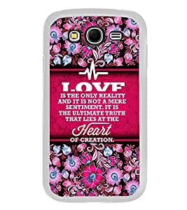 Fuson Heart Of Creation Designer Back Case Cover for Samsung Galaxy Grand I9082 :: Samsung Galaxy Grand Z I9082Z :: Samsung Galaxy Grand Duos I9080 I9082 (Love Quotes Inspiration Emotion Care Fun Funny)