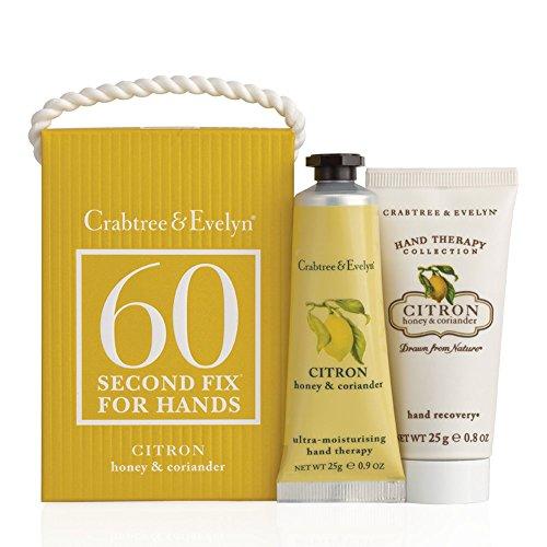 Crabtree & Evelyn Citron, Honey & Coriandolo Mini 60 In secondo luogo Fix Kit Mani